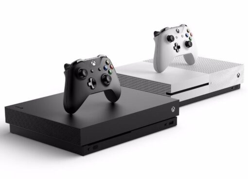 Comparison of two consoles, Xbox One X and One S